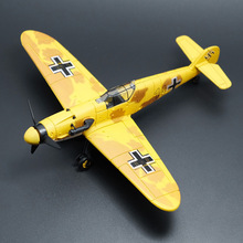 1:49 Assembly Military BF 109 MODEL PLANE Airplane Toy Plane Model outdoor fun sports Glider Aircraft