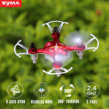 Syma X12S RC Drone 4CH 6 Axis RC Quadcopter Pocket-size Mini Drone 2.4Ghz Remote Control Helicopter Aircraft Children Toy Gift