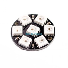 7-Bit 7 Bit LED WS2812 5050 RGB LED Ring Lamp Light Integrated Drivers arduino