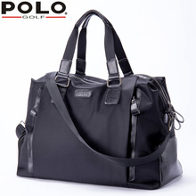 High Quality New Brand Polo Golf Shoulder Bag Men's Clothes Shoes Bag Large Capacity Light Travel Handbag Messenger Bag(China)
