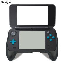 Bevigac Protective Case Cover Ergonomic Controller Hand Handle Grip Joypad Joystick Bracket for Nintendo Nintend New 2DS XL LL(China)