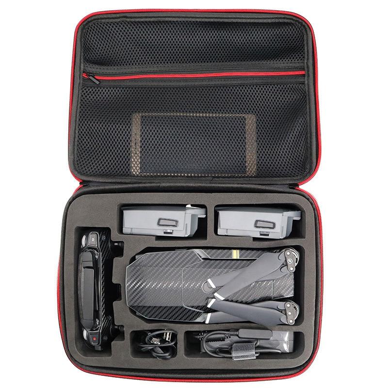 DJI Mavic Pro Drone Storage Box PU Leather Waterproof Suitcase Portable Handbag Shoulder Bag Standard Quadcopter Carrying Case