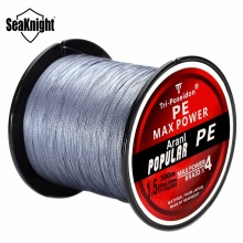 Seaknight Brand Tri-Poseidon Series TP300 Fishing Line 300M Japan Multifilament PE Braided Fishing Line 8 10 15 20 30 40 50 60LB