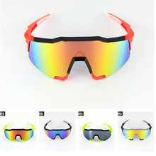 Sunglasses Steampunk Men Women Fashion Glasses  Motor Biker Goggle BMX Polarized Sunglasses cycling Glasses with 2 Lens EVA Box