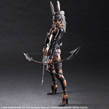 Final Fantasy Action Figure Fran Play Arts Kai Archer 260mm PVC Anime Movie Collectible Model Toy Final Fantasy Playarts Kai