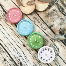 Kitchen Fridge Magnet Clocks,Simple Kitchen Wall Clocks, Four Color For Options Round Watches Fridge Stickers