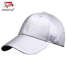 DINISITON New Arrival High Quality Spring Fashion Cap Brand Caps Adjustable Bone Simple Men & Women Hat Solid color BQ10(China)