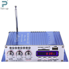 Hi-Fi Digital Car Stereo Power Amplifier Sound Mode Audio Music Player USB MP3 DVD CD FM SD for Motorcycle Home No Power Plug