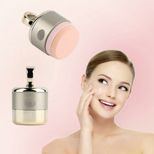 wholesale 3D Electric Smart Foundation Face Powder Vibrator Puff Sponge Cosmetic Beauty Spa Tool(China)