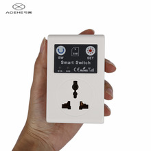 ACEHE EU Plug 220V Phone RC Remote Wireless Control Smart Switch GSM Socket Power Plug for Home Household Appliance Hot Sale(China)