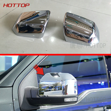ABS DOOR MIRROR COVER For Ford F150 F-150 2015 2016