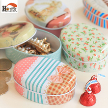 CUSHAWFAMILY mini European Soap box shape candy storage box wedding favor tin box zakka cable organizer container household(China)