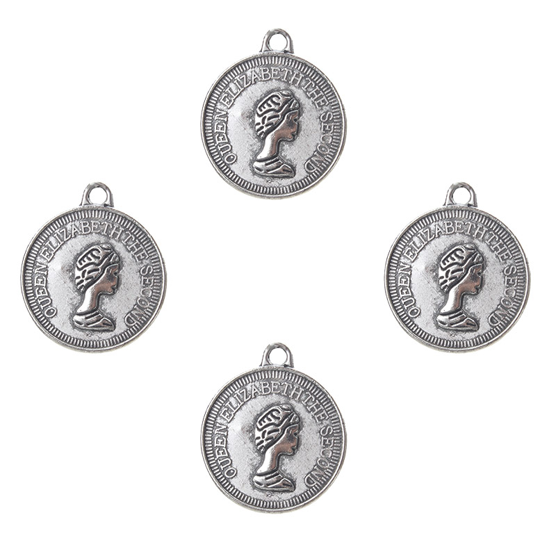 Chair Charm//Pendant Tibetan Antique Silver 20mm  10 Charms Accessory Jewellery