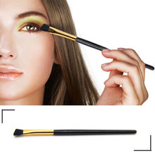 1 Pcs Professional Portable Brush PVC Oblique Angle Eye Shadow Brush High Light Contour Makeup Brushes Eye Beauty Make-up Tools