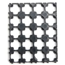 2 Pcs 18650 Battery 4x5 Cell Spacer Radiating Shell Pack Plastic Heat Holder