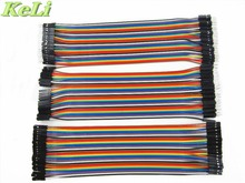 New Dupont line 120pcs 20cm male to male + male to female and female to female jumper wire Dupont cable