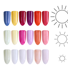 Sunlight Sensitive Color Changing Nail Glitter 1g UV Light Photochromic Nail Dust Pigment Manicure Powder for UV Gel Decorations
