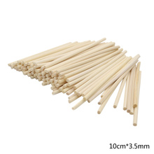100pcs 3.5mm*10cm Premium Rattan Reed Refill Sticks Fragrance Oil Diffuser Replacement Reeds