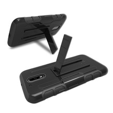 G4 Play G4 Plus Armor Holster Cover Stand Hybrid Case for Moto G G2 G3 X X2 X3 X Play E2 Z Play Z Force Droid Swivel Belt Clip