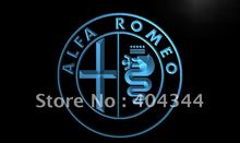 LG146- Alfa Romeo Car Services Parts LED Neon Light Sign home decor shop crafts(China)