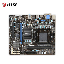 MSI 880GMS-E41(FX) Original Used Desktop Motherboard 880G Socket AM3 DDR3 16G STAT3 USB2.0 Micro ATX