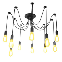 Vintage Edison Industrial Retro Ceiling Pendant Lamps DIY Style Chandelier Light