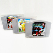Buy 10pcs/lot Clear Transparent Game Card Cartridge N64 Cartridge Protector Game Card Plastic PET Case Boxes N64 Accessories for $8.15 in AliExpress store
