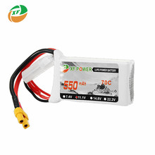 Buy XF Power 11.1V 550mAh 3S 70C Lipo Battery Rechargeable XT30 Plug Connector RC Models Helicopter Quadcopter Racing Part for $8.99 in AliExpress store