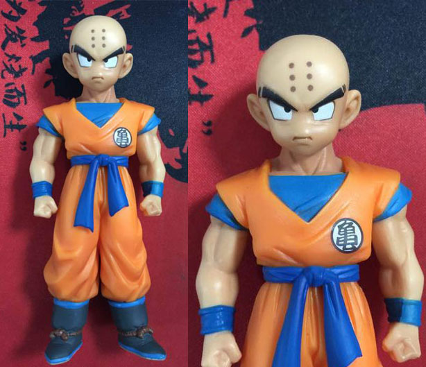 11cm Japanese anime figure Dragon Ball Z Krillin Action Figure scale painted figure Kuririn Doll PVC ACGN figure Brinquedos<br><br>Aliexpress