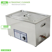 30L Industry Ultrasonic Cleaner Cleaning Machine 600W Baskets Jewelry Watches  40kHz Ultrasound Cleaner Ultrasonic Bath PS-100T