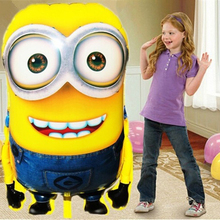 Big Size Minions Balloons ball Classic Toys Christmas Birthday Wedding Decoration Party inflatable air balloon 92*65cm C0