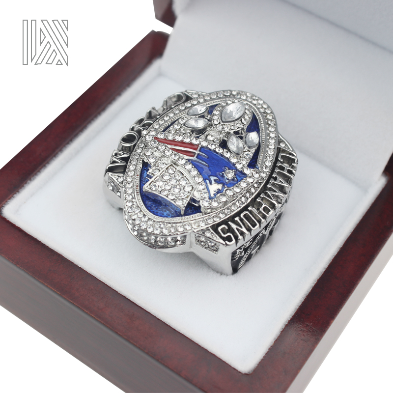 The Newest Official release 2017 New England Patriots Super Bowl LI MVP BRADY Championship Ring Size 8 9 10 11 12 13(China)