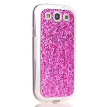 YOCASE Charming Sequins Painting Soft Phone Case For Samsung Galaxy S3 I9300 Cover Cases Luxury Elegant Holster Bag
