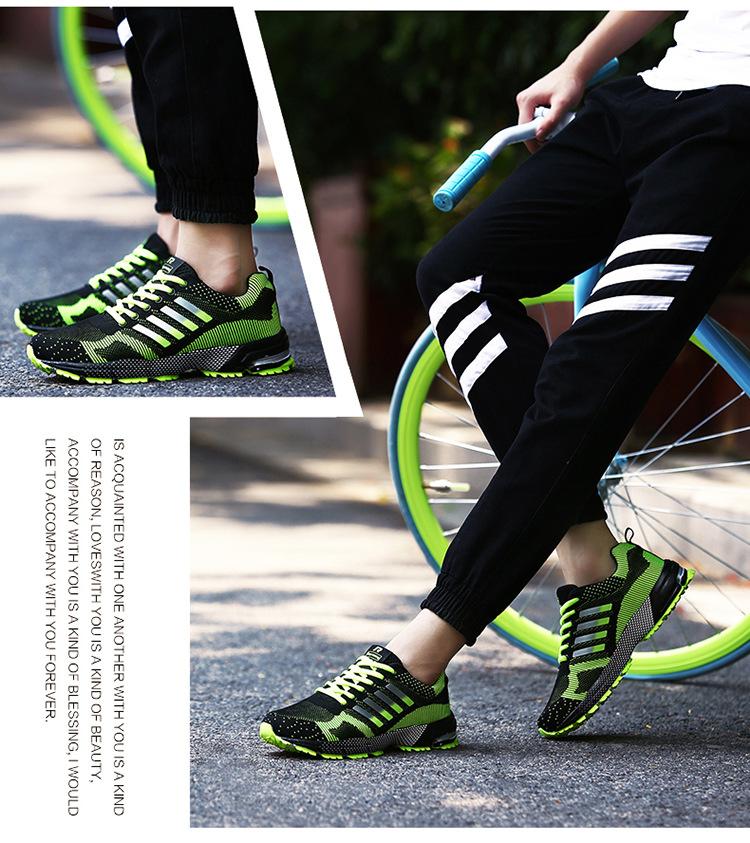 JYRhenium Sneakers Shoes Men Running Shoes 17 Lovers Outdoor Men Sneakers Sports Breathable Trainers Jogging Walking Shoes 35