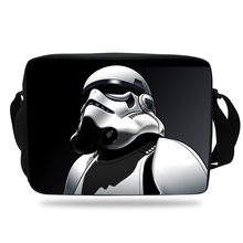 Cute Cartoon Shoulder Bag Shoulder Messenger Bags Fashion Women Bag For Students School Boys Girls Star Wars Messenger Bag(China)
