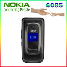 100% Original Nokia 6085 original Mobile phone unlocked quad band FM Radio GSM cellphone Free shipping