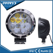 OVOVS new design factory price 4d 12v 60w led car lamp for tractor offroad truck tractor ATV SUV
