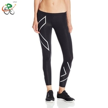 LFLH  XU Womens Compression Tights Pants 2017 Brand jogges Fitness Pant High Elastic Sweat dance jogges Pants Sliver
