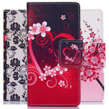 Luxury Leather Cell Phone Flip Case Cover For Samsung Galaxy S4 S5 S3 Mini S6 S6 edge S7 S7 edge Note 4 5 with Stand Card Slots