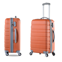 Fashion ABS+PC  Rolling Luggage  Spinner Wheels 20 Inch Boarding Box  24 28 inch Travel Bag Suitcase Card