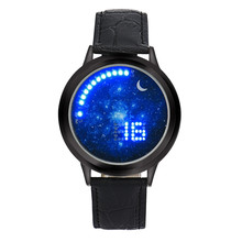NEW Women Men Girl Boy touch LED Electronic Multifunctional Sports Watch Hot Reloje specially  New wholesale  Oct6