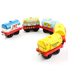 Oil tank truck Thomas and friends trains trackmaster tender metal magnetic engine tomas train models railway kids baby toys car