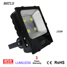 200W LED flood Light, outddoor wall wash, newest heat disspation management technology flood light, high quality 200w flood lamp(China)