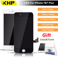2017 100% Original KHP AAAA Screen LCD For iPhone 7 Plus Screen LCD Replacement Display Touch Screen Digitizer Quality LCDs