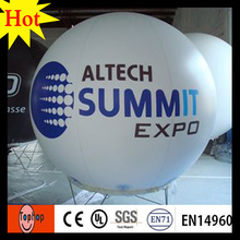 dia 2m custom inflatable advertising small helium balloons outdoor advertising 0.2mm PVC(China)