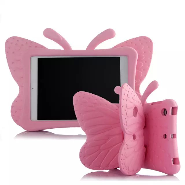 Brand Stereoscopic Butterfly Stand Case for Apple IPad 2 3 4 TPU Back Cover for IPad 4 Silicone High Qulity Cute Fundas Newest<br><br>Aliexpress