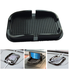 Mobile Cell Phone Smartphone Fixate Anti Slip Pad Mat Resistance Non-slip 3D Mount Holder Stand for Glasses GPS Coins Car keys