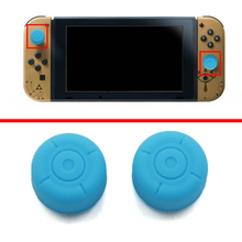 Anti-slip 7.5mm Silicone Extended Length Thumb Grips Thumbstick Caps Case Cover For Nintendo Switch NS NX Joy-con Controller