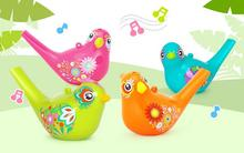 Free shipping Creative painting bird whistle wind instrument infant early childhood educational musical toys GYH(China)
