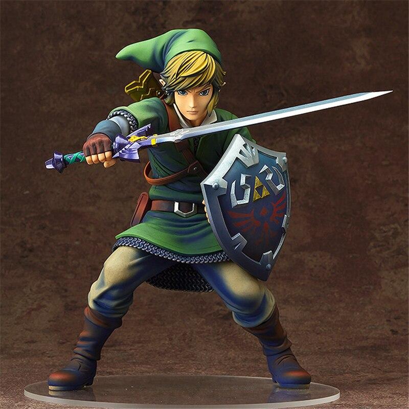 Anime The Legend of Zelda Link PVC Action Figures Collectible Model Toys 20cm KT3654<br>